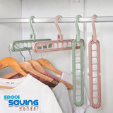 (Buy1Take1) 9in1 Space Saving Hanger- Zibustores