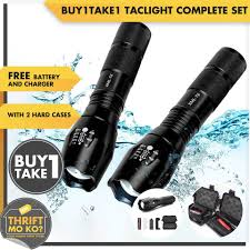 Tactical Light Complete Set w/ Charger