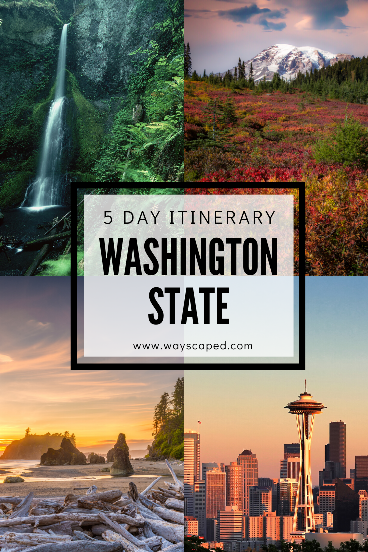 Seattle and the Olympic Peninsula - 5 Day Itinerary