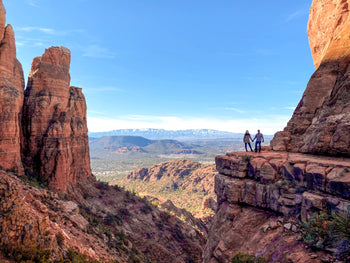 View from Cathedral Rock in Sedona, Arizona