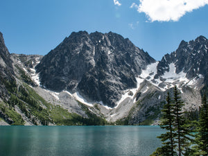 View over Colchuck Lake in Washington