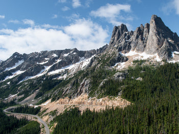 View from Washington Pass Observation Site