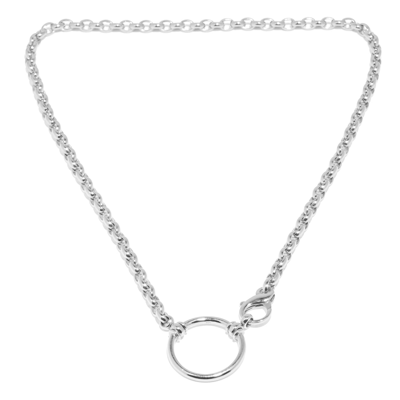 Sterling Silver Square Link with Clasp
