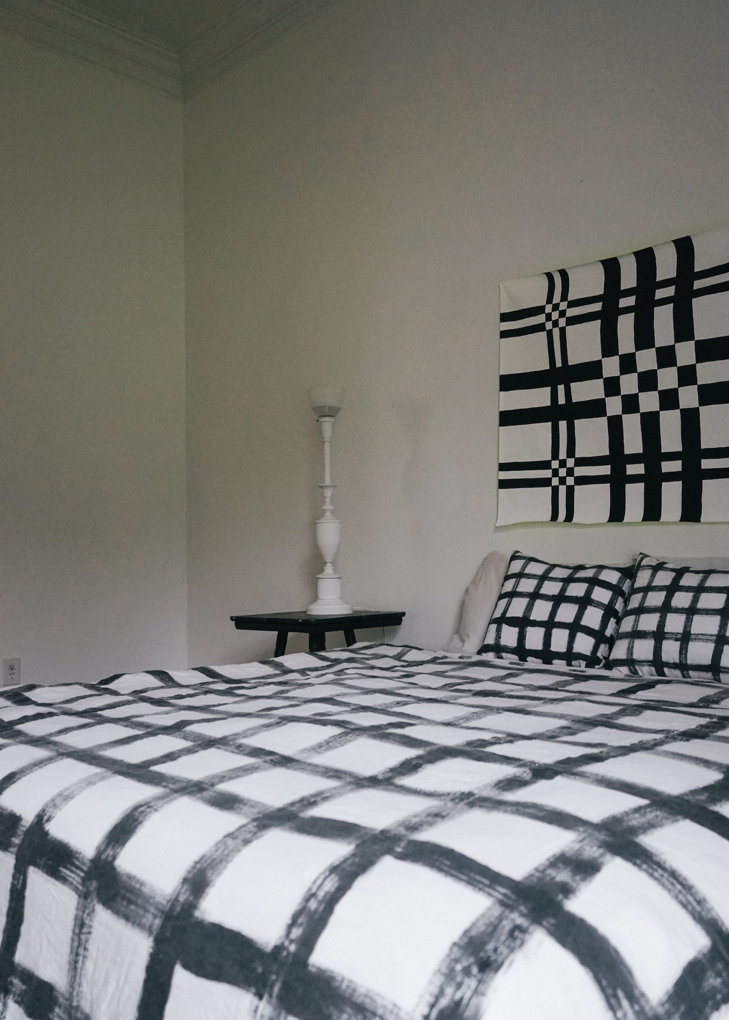 PLAID DUVET COVER
