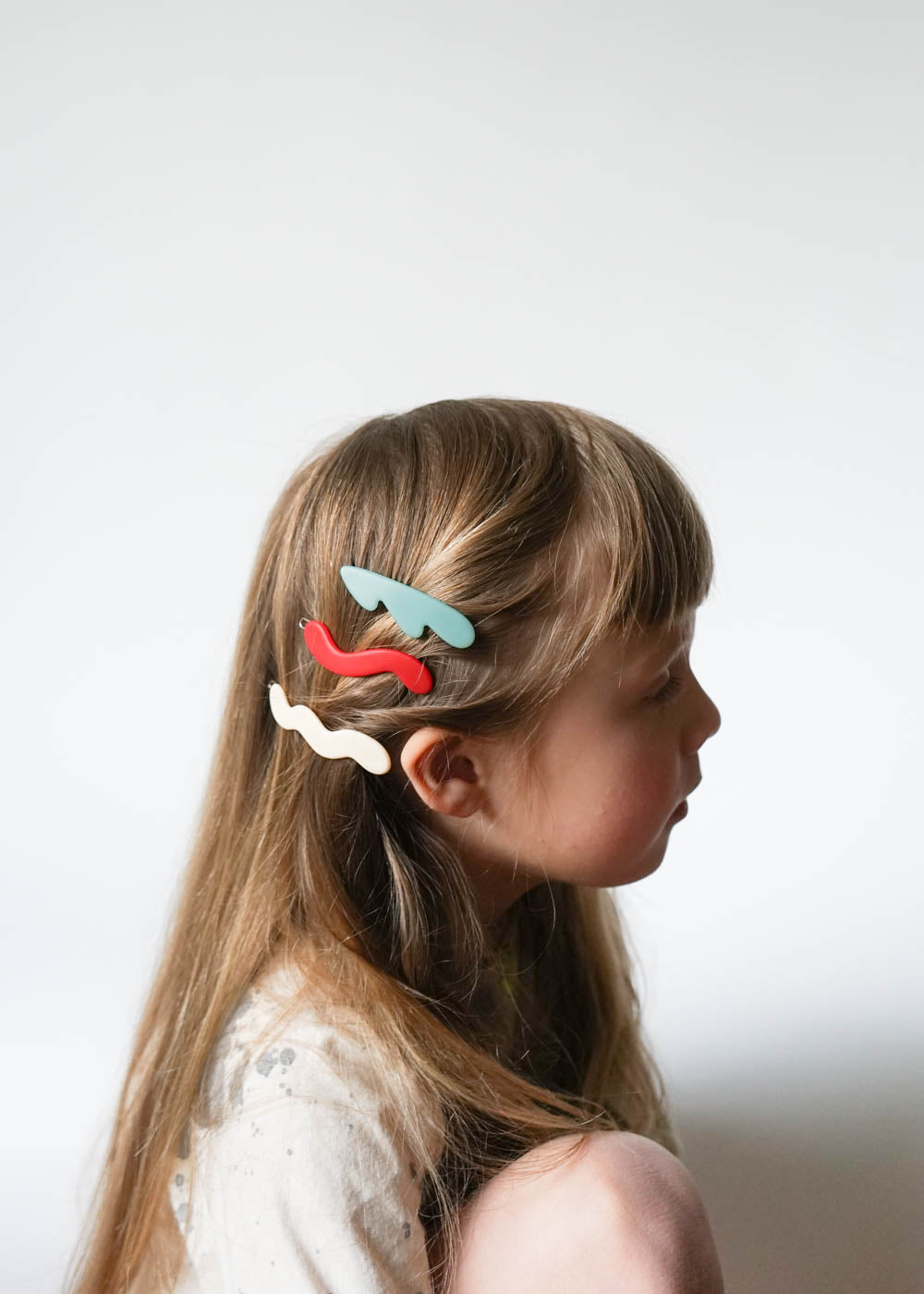 WHITE WAVE BARRETTE