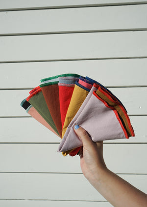 COLORBLOCK NAPKINS / SET OF 6