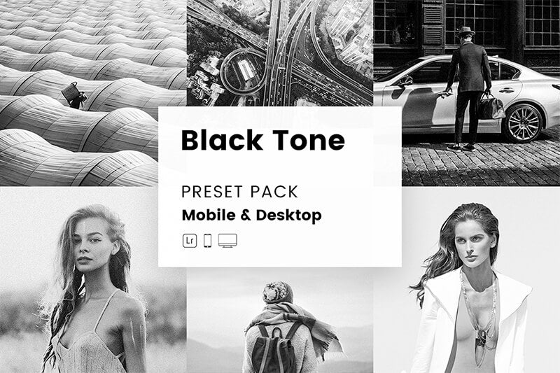 Blacktone Mobile & Desktop Lightroom Presets