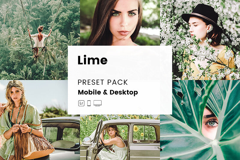 Lime Mobile & Desktop Lightroom Presets