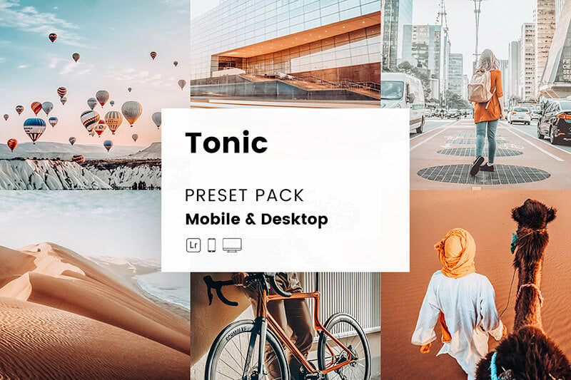 Tonic Mobile & Desktop Lightroom Presets