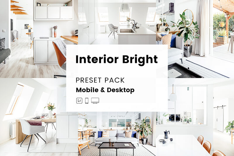 Interior Bright Mobile & Desktop Lightroom Presets