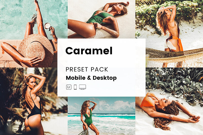 Caramel Mobile & Desktop Lightroom Presets