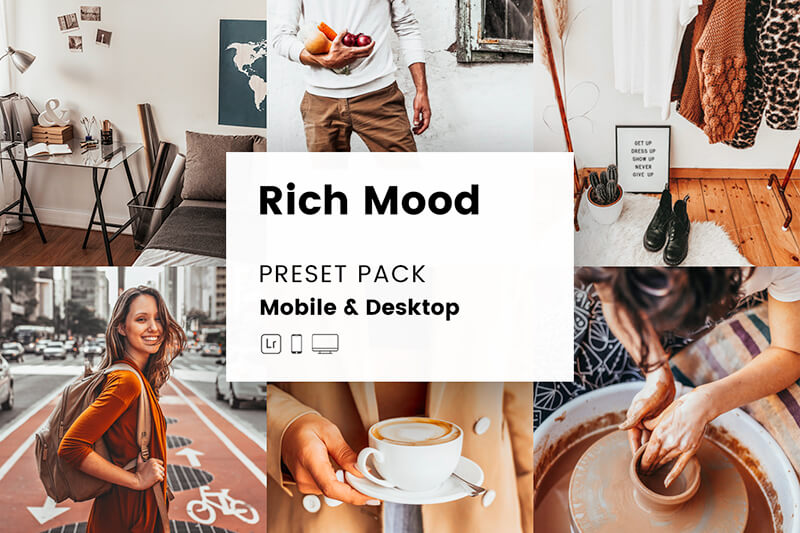 Rich Mood Mobile & Desktop Lightroom Presets