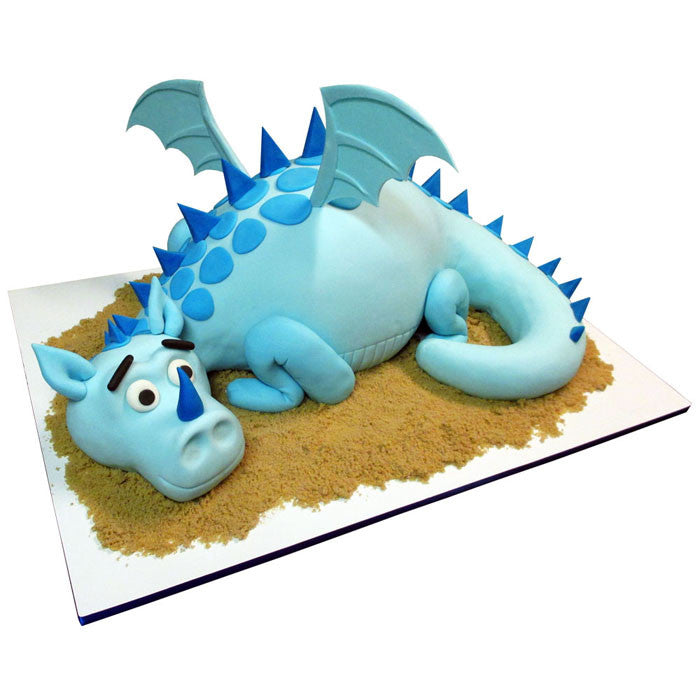 Baby Blue Dragon Cake