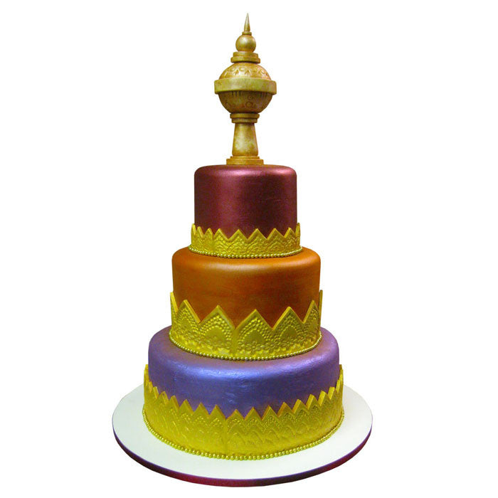 Taste of Bollywood Cake