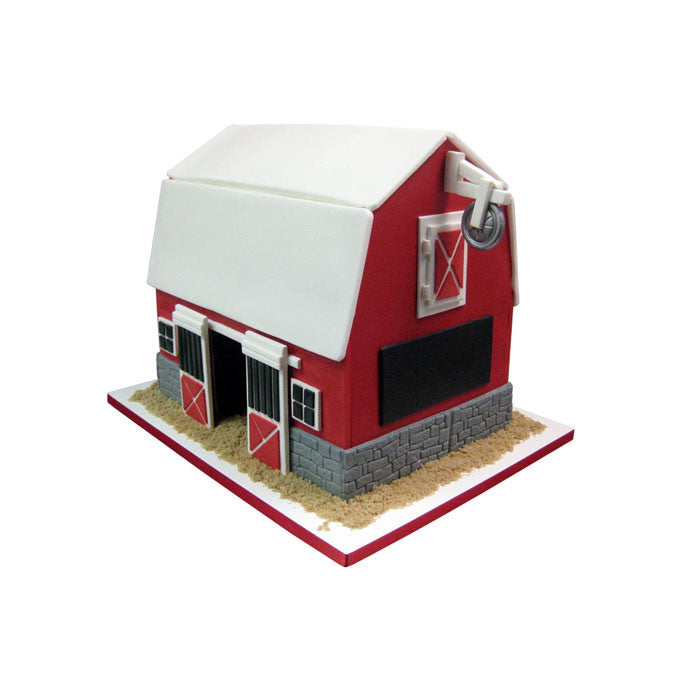 Big Red Barn Cake