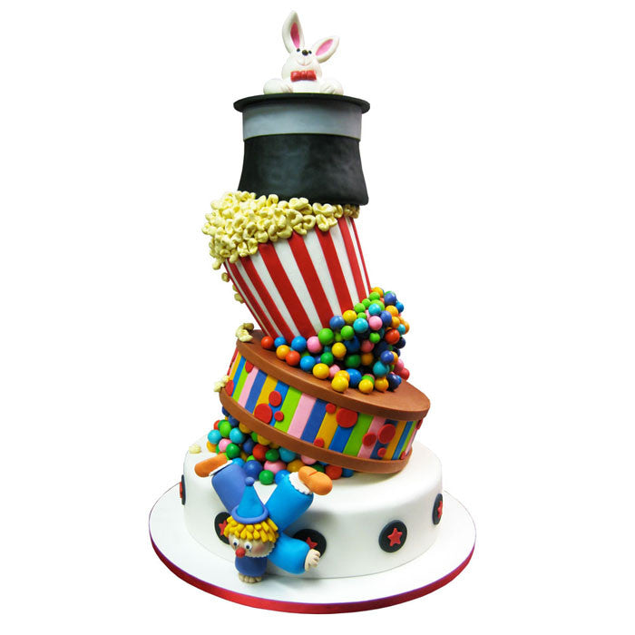 Magic & Circus Celebration Cake