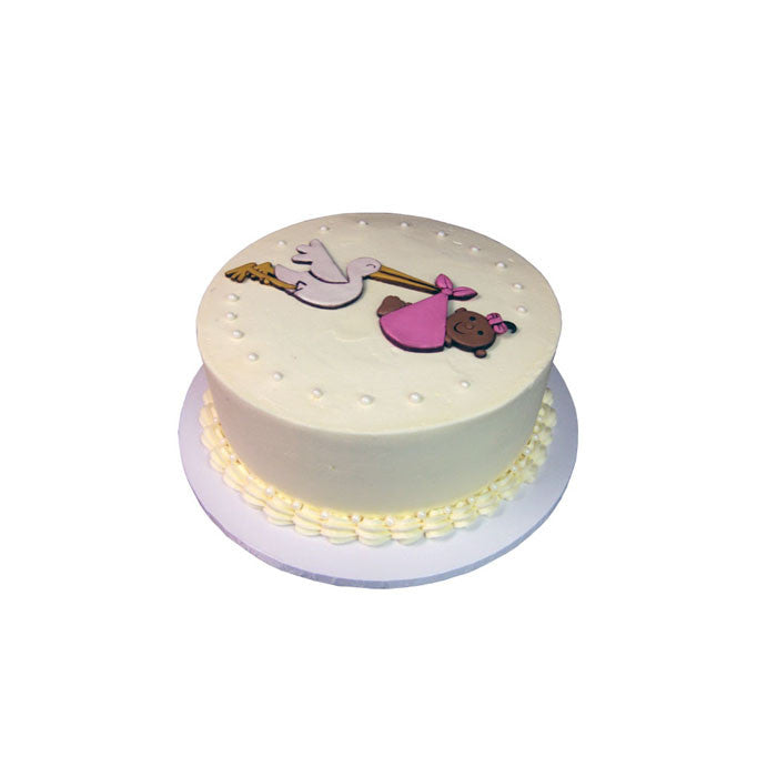 Simply Stork on Delivery Cake