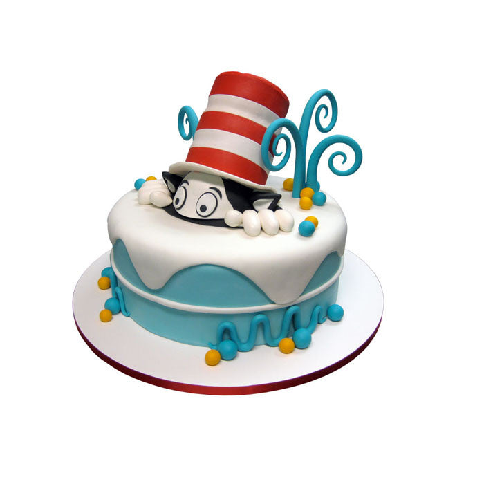 Peeking Cat In The Hat Cake City Cakes