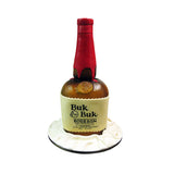 Branded Bourbon Bottle Cake