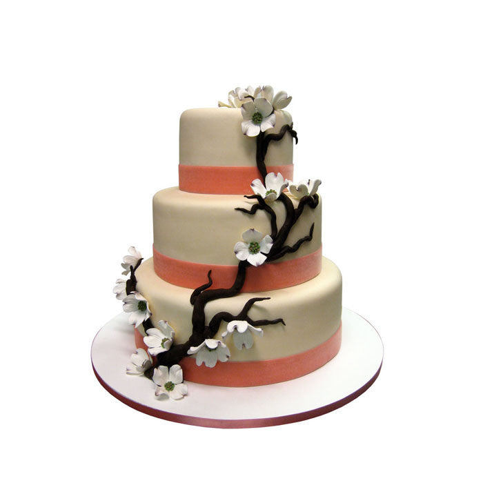 Dogwood Blossom Branch Cake