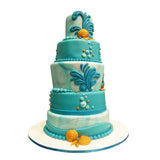 Under the Sea Aquatic Cake