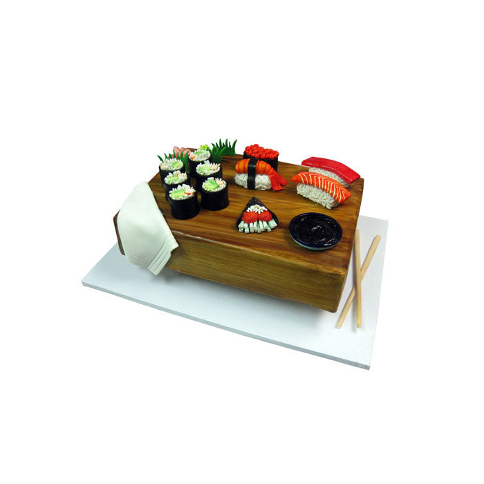 Deluxe Sushi Combo Cake