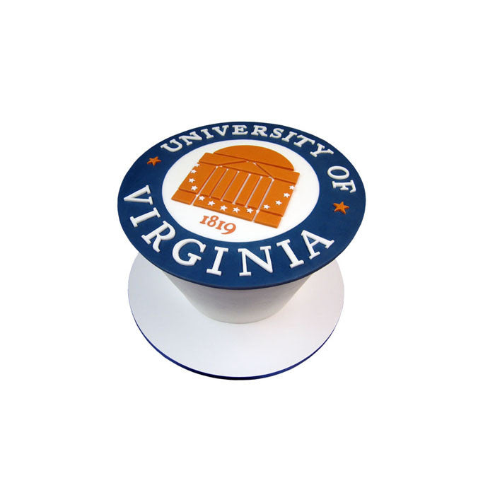 University of Virginia Logo Cake