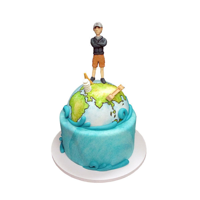 Globetrotter World Adventure Cake