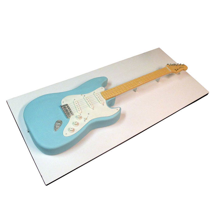 Baby Blue Fender Guitar Cake