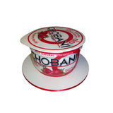 Chobani Yogurt Painted Cake