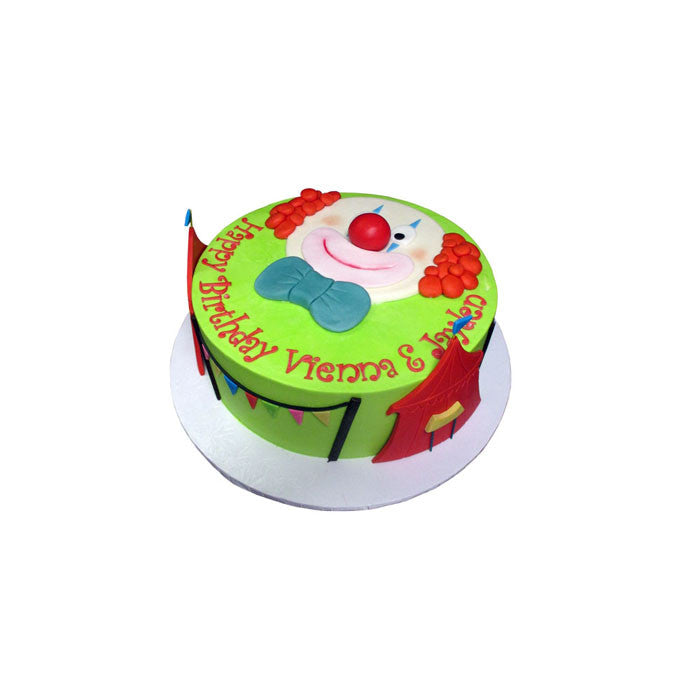 Carnival Red Nose Clown Cake