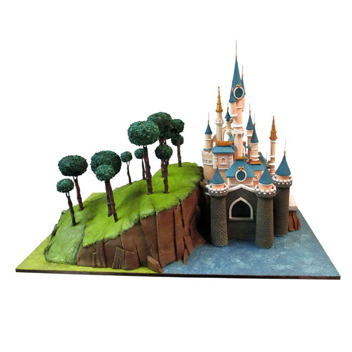 Disney Magic Kingdom Castle Cake
