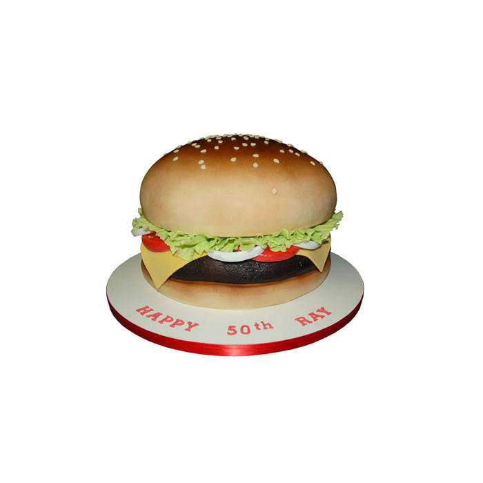 Brilliant Cheeseburger Birthday Cake City Cakes Funny Birthday Cards Online Inifofree Goldxyz
