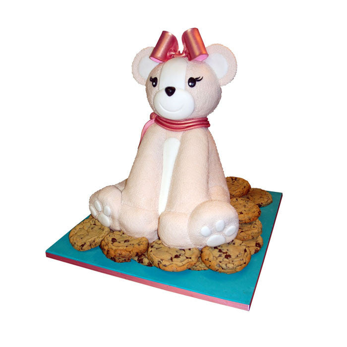 Dreamy Cookie Teddy Bear Cake