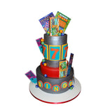 Lucky Lotto Game Tickets Cake