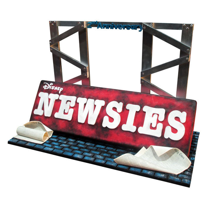 Disney Newsies on Broadway Cake
