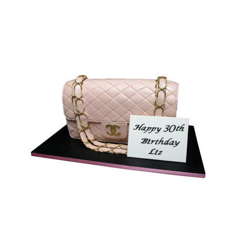 Versace and Hermes Accessory Cake