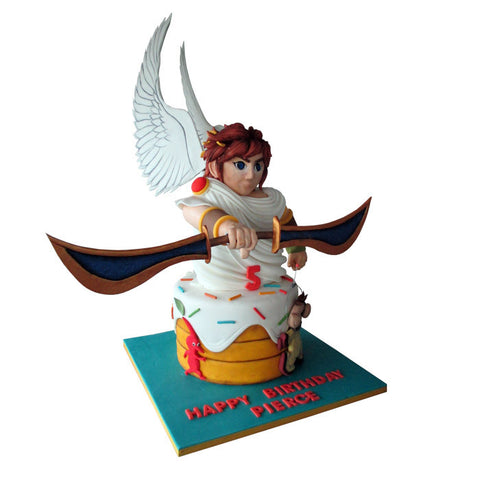 Little Warrior Cake
