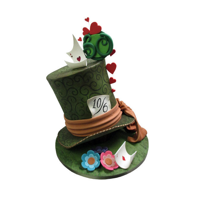 Wonderland Top Hat Cake