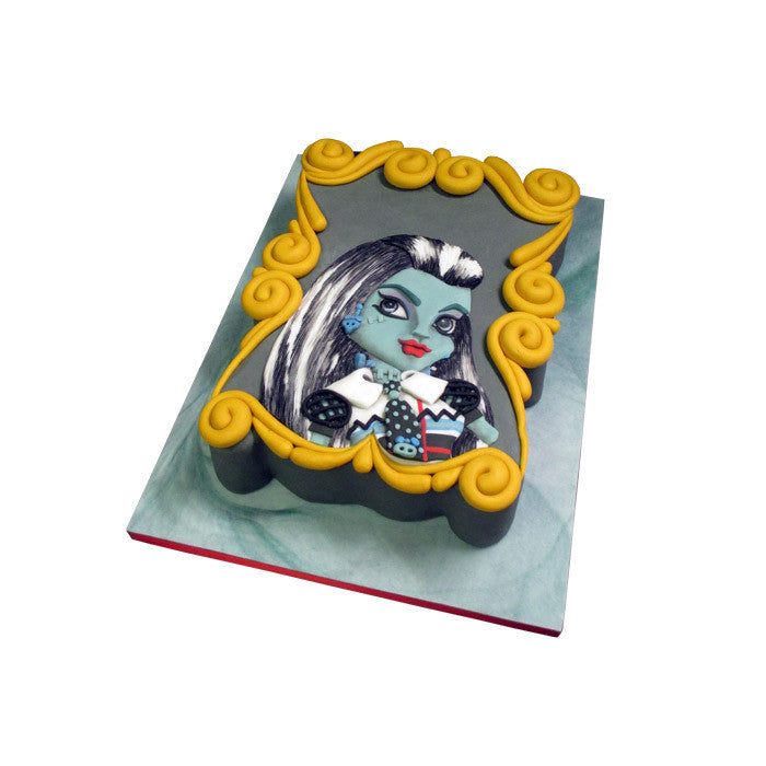 Monster High Frankie Stein Cake