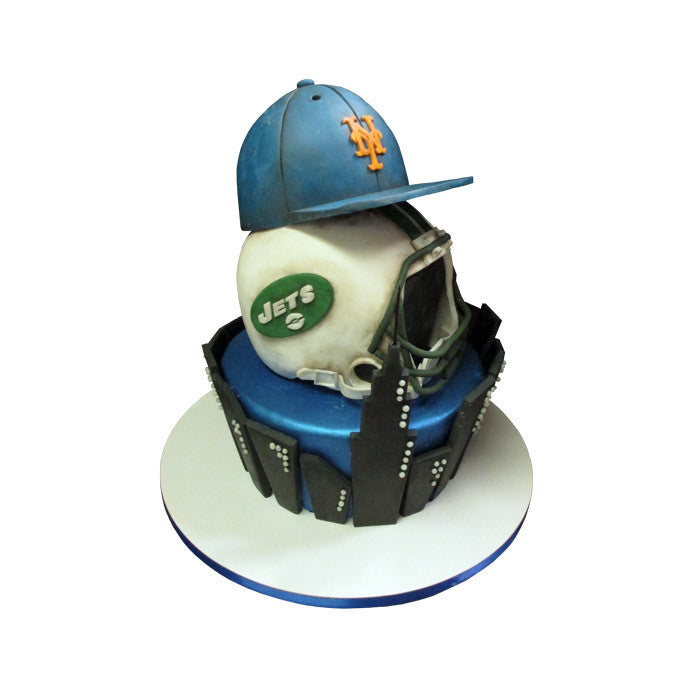 Jets & Mets in the City Cake