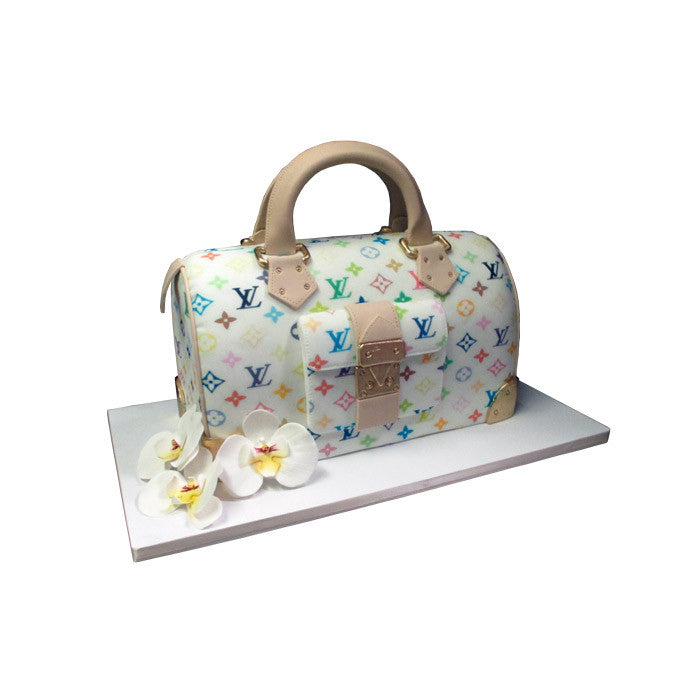 Louis Vuitton Multicolor Monogram & Orchid Cake