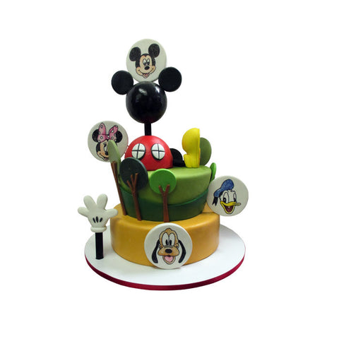 Monster Mash Up Cake