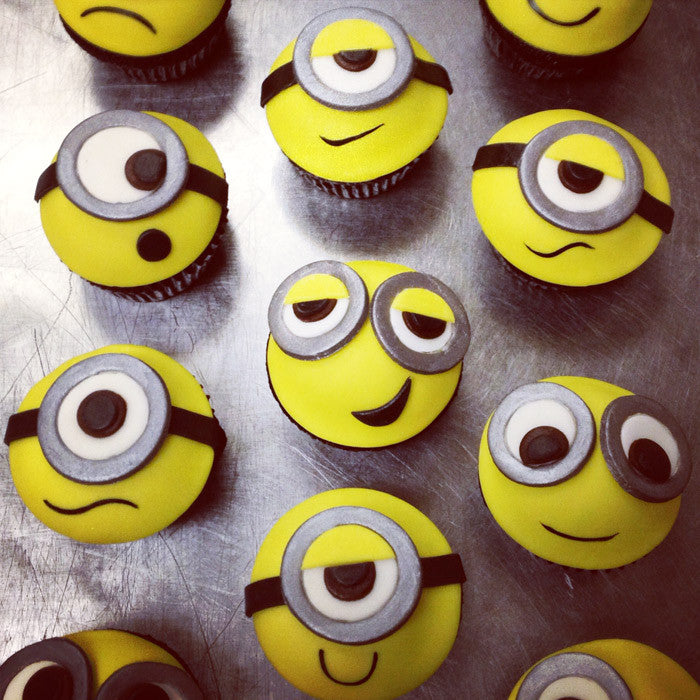 Dispicably Cute Minion Custom Cupcakes