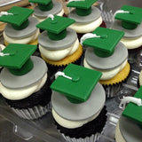 Graduation Cap Custom Cupcakes