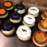 Mummy and Witch Halloween Custom Cupcakes
