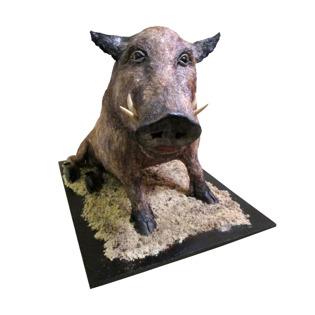 True-to-Life Bloodless Boar Cake