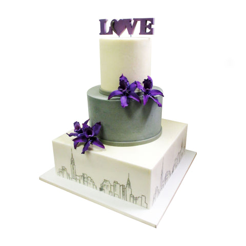 Black Swan Wedding Cake