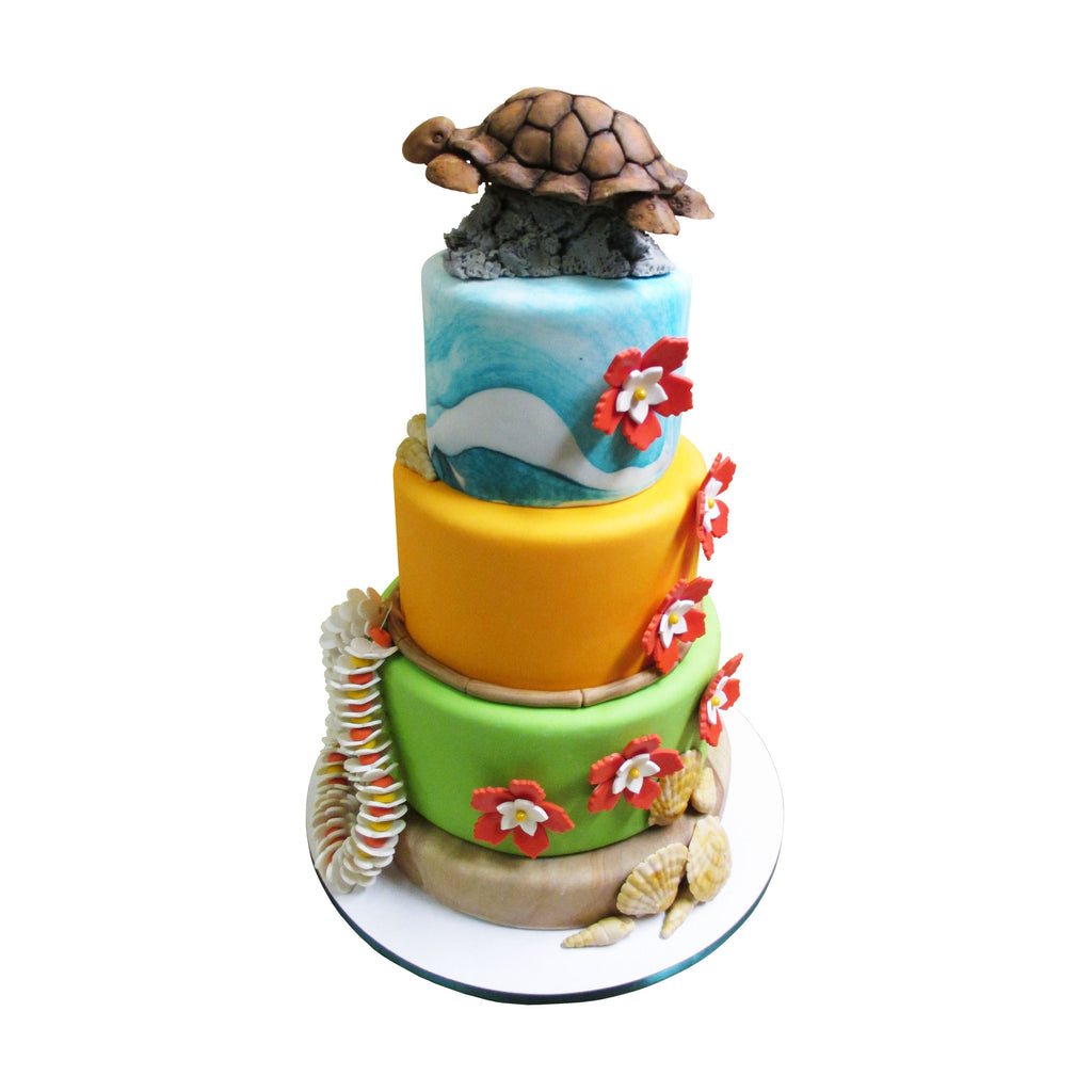 Elements of Hawaiian Culture Cake
