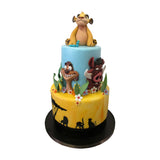 Baby Lion King Safari Cake